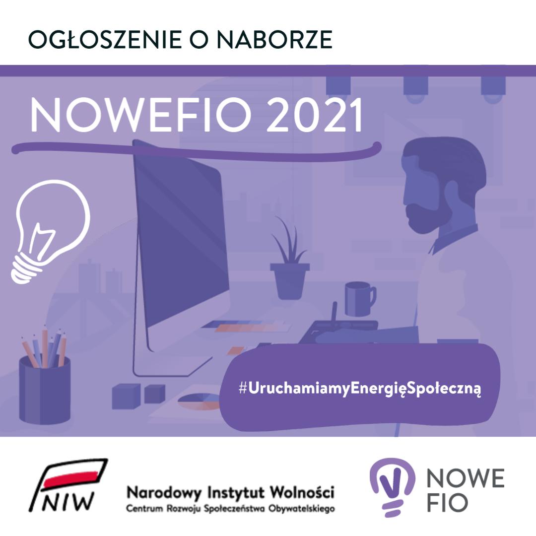Wystartował nabór w Programie NOWE FIO 2021!
