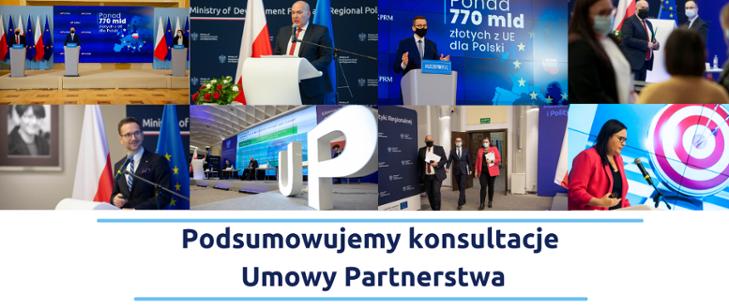 Podsumowanie konsultacji Umowy Partnerstwa